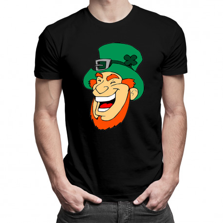 Leprechaun - męska koszulka z nadrukiem