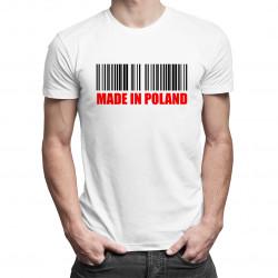 Made in Poland - damska lub męska koszulka z nadrukiem