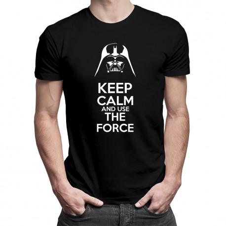 Keep Calm Star Wars - męska koszulka z nadrukiem