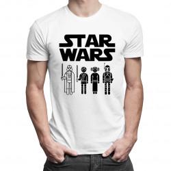 Star Wars - męska koszulka z nadrukiem