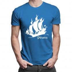 Pirates - damska lub męska koszulka z nadrukiem
