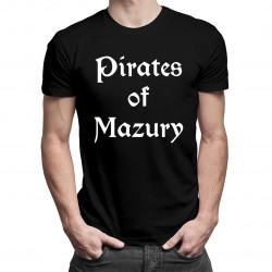 Pirates of mazury - męska koszulka z nadrukiem