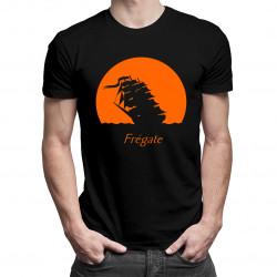 Fregate - męska koszulka z nadrukiem