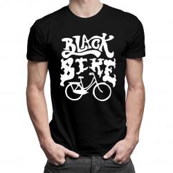 Black Bike - męska koszulka z nadrukiem