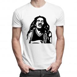 Bob Marley - męska koszulka z nadrukiem