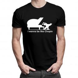 Chopin - męska koszulka z nadrukiem