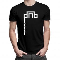 DNB - męska koszulka z nadrukiem