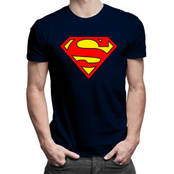 Superman - męska koszulka z nadrukiem
