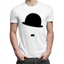 Charlie Chaplin - męska koszulka z nadrukiem