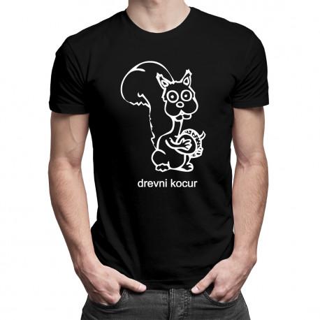 Drevni Kocur - męska koszulka z nadrukiem