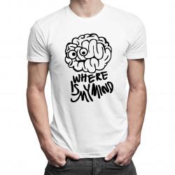 Where is my mind? - męska koszulka z nadrukiem