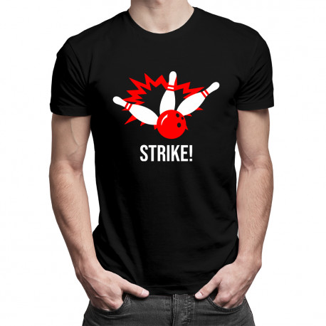 Strike! - męska koszulka z nadrukiem