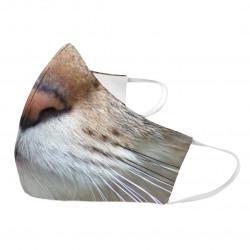 Kot - maseczka ochronna z nadrukiem