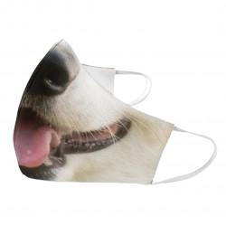 Pies - maseczka ochronna z nadrukiem