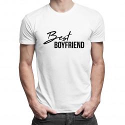Best boyfriend - męska koszulka z nadrukiem