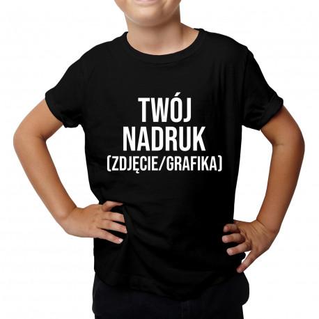 Koszulka dziecięca z własnym nadrukiem
