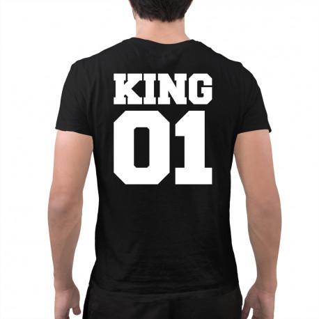 KING 01 - męska koszulka z nadrukiem