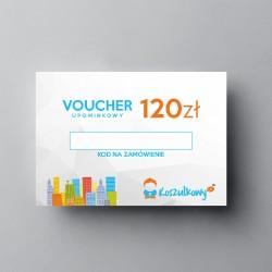 Voucher upominkowy 120zł