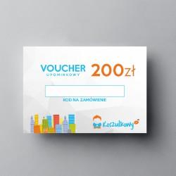 Voucher upominkowy 200zł