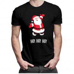 Święty Mikołaj - damska lub męska koszulka z nadrukiem