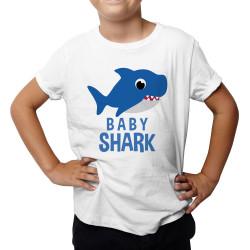 Baby shark - dziecięca koszulka z nadrukiem