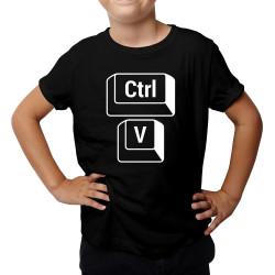 Ctrl+V - Koszulka dziecięca z nadrukiem
