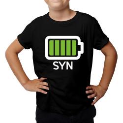 Bateria - dziecięca koszulka z nadrukiem