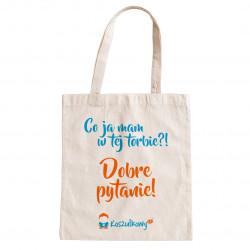Koszulkowy.pl™ - Firmowa torba z nadrukiem