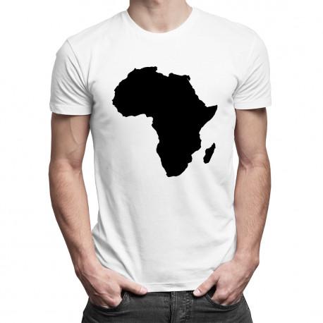 Africa - męska koszulka z nadrukiem
