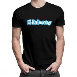 El Kalesony - męska koszulka z nadrukiem