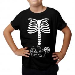 Kości dziecka - dziecięca koszulka z nadrukiem