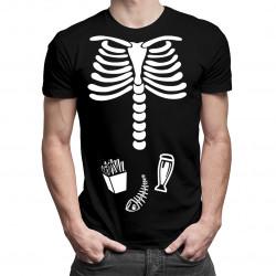 Kości taty - męska koszulka z nadrukiem