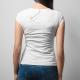 Fantastyczna matka super fajnego syna urodzonego w lutym - damska koszulka z nadrukiem