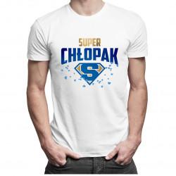 Super chłopak - męska koszulka z nadrukiem
