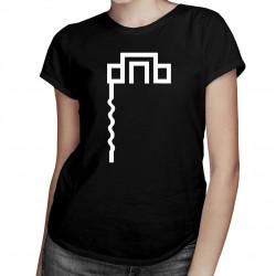 DNB - damska lub męska koszulka z nadrukiem