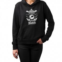 Spod znaku zodiaku - Wodnik - damska bluza z nadrukiem