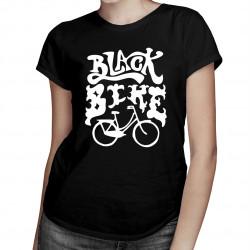 Black Bike - damska koszulka z nadrukiem