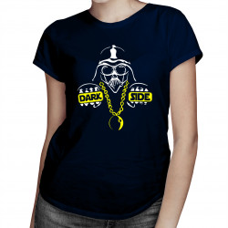 Dark Side - damska koszulka z nadrukiem