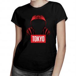 Tokyo - damska koszulka z nadrukiem