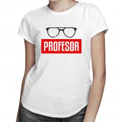 Profesor - damska koszulka z nadrukiem