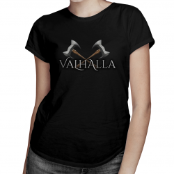 Valhalla - damska koszulka z nadrukiem