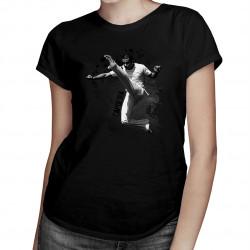 Capoeira - damska koszulka z nadrukiem