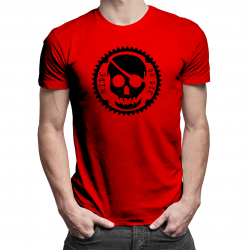 Ride or Die - męska koszulka z nadrukiem