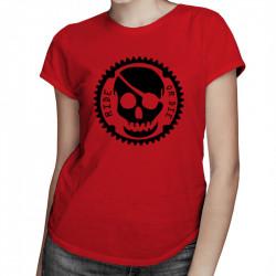 Ride or Die - damska koszulka z nadrukiem