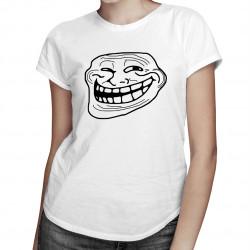 Troll face - damska lub męska koszulka z nadrukiem