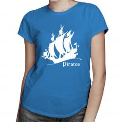 Pirates - damska koszulka z nadrukiem