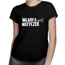 Władca nożyczek - damska koszulka z nadrukiem