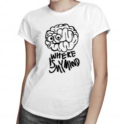 Where is my mind? - damska koszulka z nadrukiem