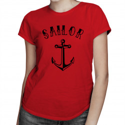 Sailor - damska koszulka z nadrukiem