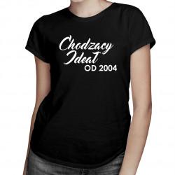 Chodzący ideał od... - damska koszulka z nadrukiem